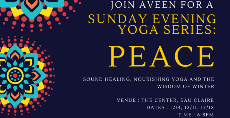 December Sunday Yoga Series- Tickets here