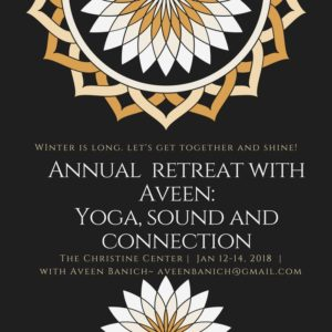 Annual Winter Yoga Retreat